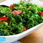 Strawberry-Kale Salad (S)