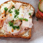 Mozzarella and Turkey Toast (E)