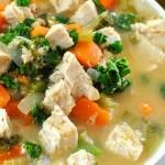 Sweet Potato Oat Soup (E)