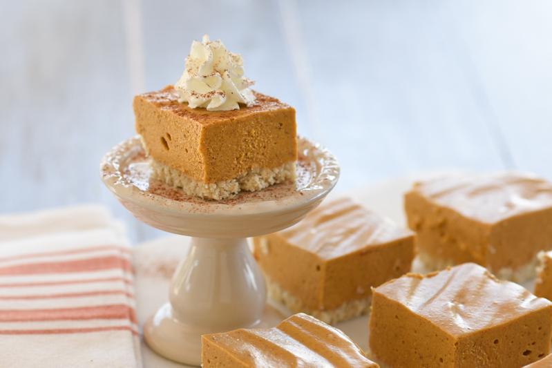 Pumpkin Custard Silk Squares or Pie (S) p.410