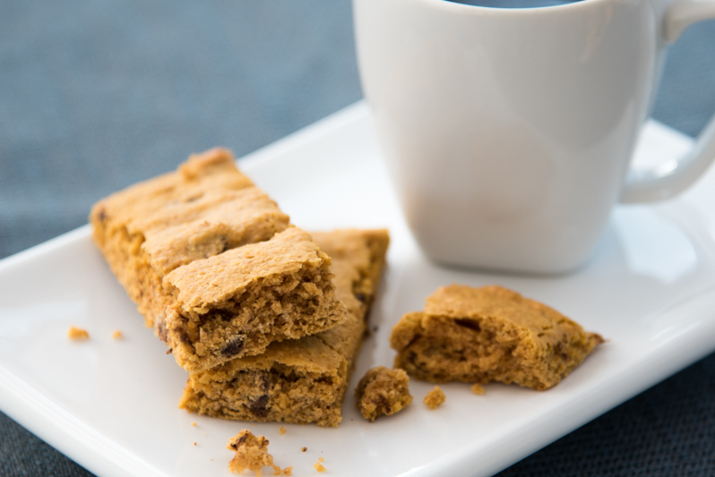 Chocolate Chip Peanut Butter Cookie Bars (S) p.429