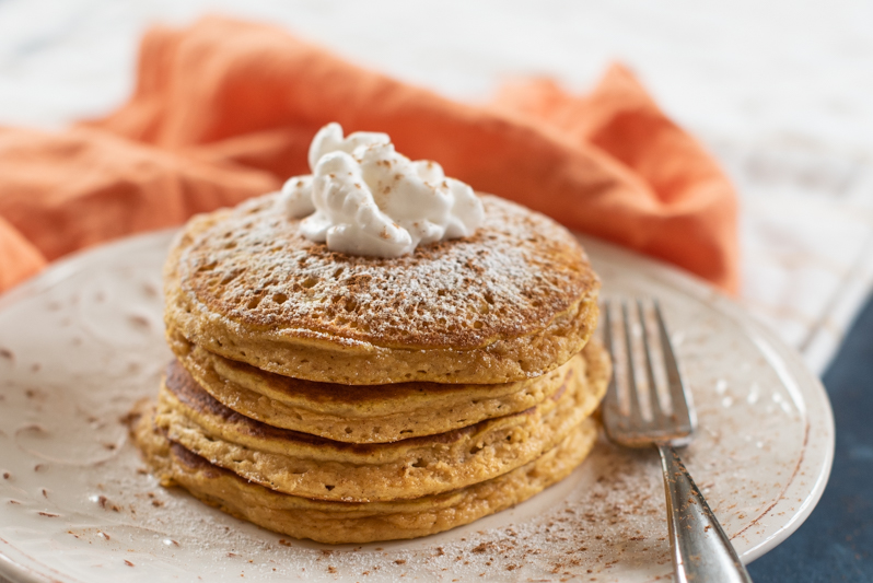 Pumpkin Spice Pancakes (FP)