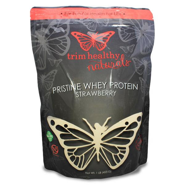 Pristine Whey Protein Powder 16oz Bag Strawberry
