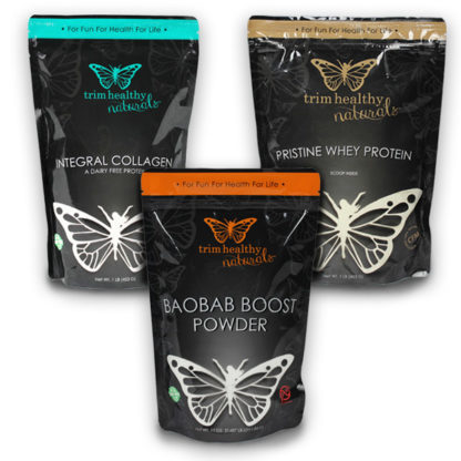 Image of Immune Booster Bundle (Collagen 16oz, Baobab 11oz and Pristine Whey Protein 16oz)