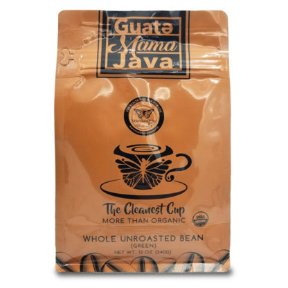 Image of GuateMama Java Whole Bean Unroasted (Green) Coffee SKU# 752830608160 600x600 pixels