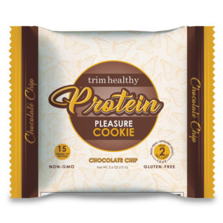 Image of THM Protein Pleasure Cookie: Chocolate Chip 2.6oz SKU# 644216212286 600x600 pixels