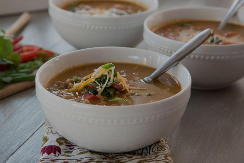 Trim Train Taco Soup (FP)