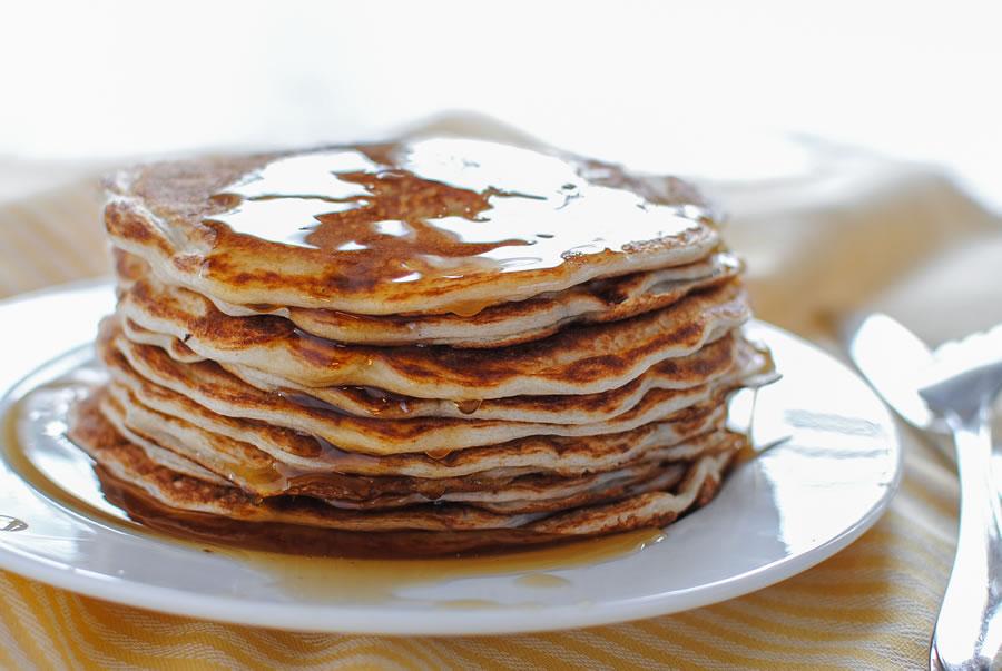 trim healthy pancakes or waffles e thm com