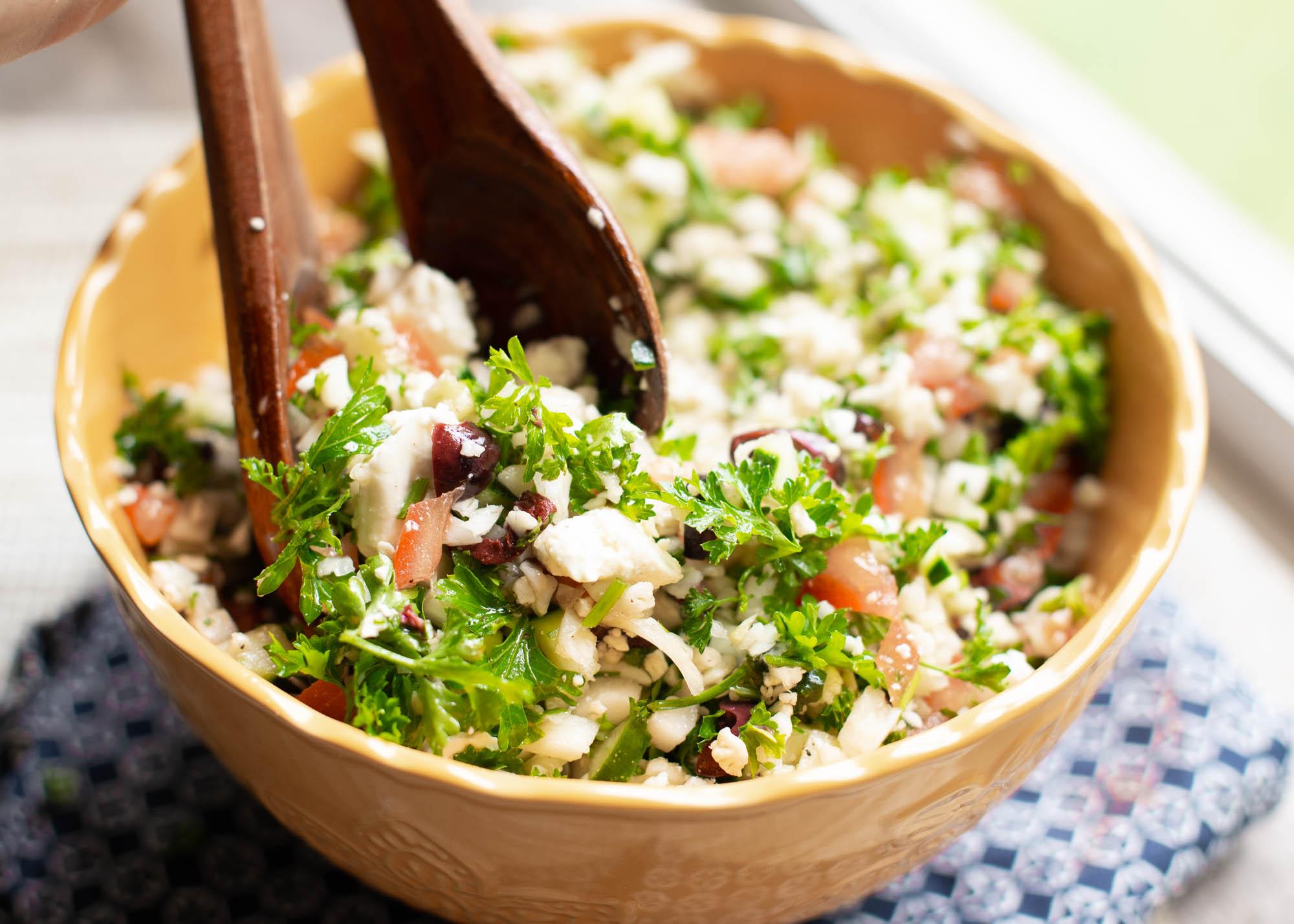 Cauli Rice Tabbouleh